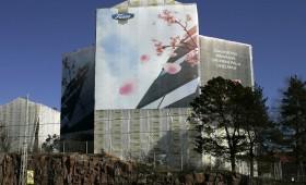 Geisha trükireklaam Helsinkis