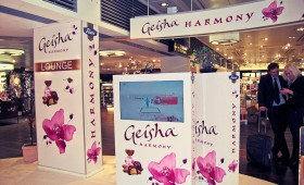 Geisha lounge Kopenhaageni lennujaamas